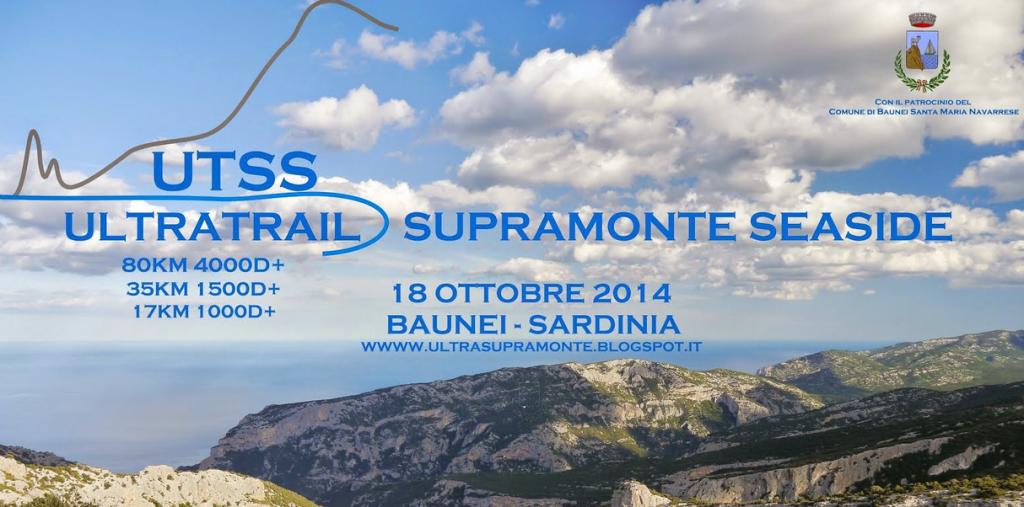 Ultratrail Supramonte Seaside - Baunei - Sabato 18 Ottobre 2014