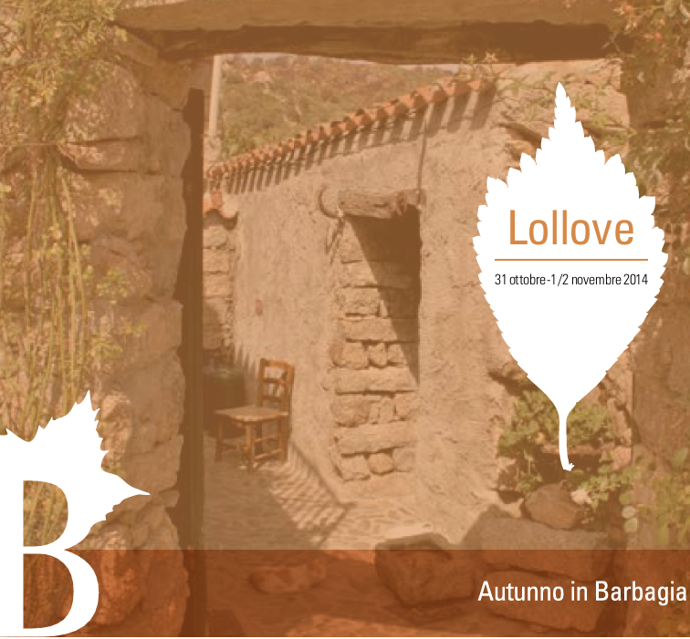 Autunno in Barbagia 2014 a Lollove – Dal 31 Ottobre al 2 Novembre