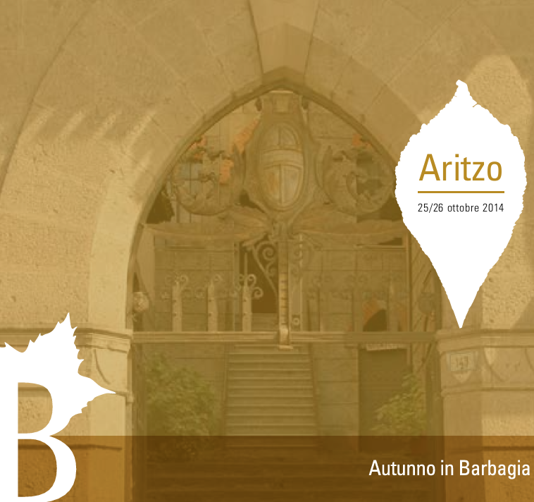 Autunno in Barbagia 2014 ad Aritzo