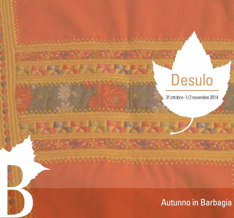 Autunno in Barbagia 2014 a Desulo