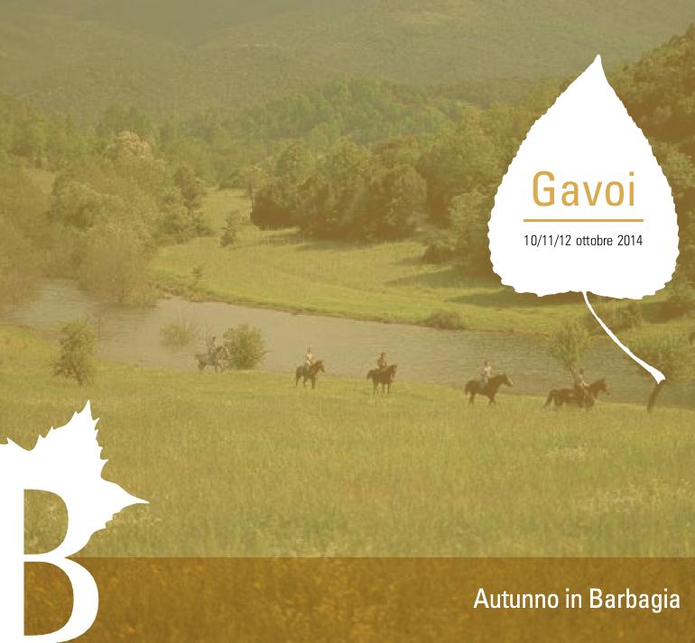 Autunno in Barbagia 2014 ad Gavoi – Dal 10 al 12 Ottobre