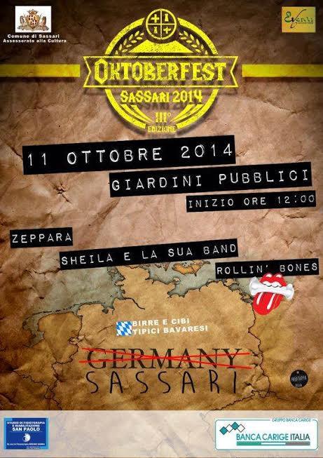 Oktoberfest 2014 a Sassari - Sabato 11 Ottobre