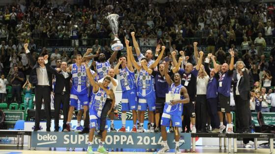 La Dinamo vince la SuperCoppa Italiana di Basket