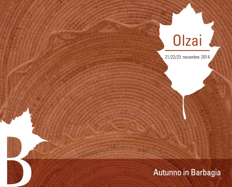 Autunno in Barbagia 2014 ad Olzai - Dal 21 al 23 Novembre