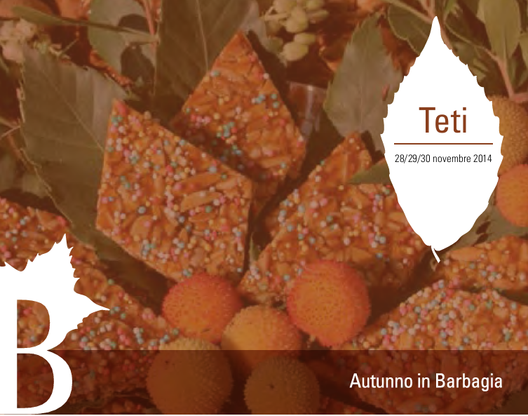 Autunno in Barbagia 2014 a Teti