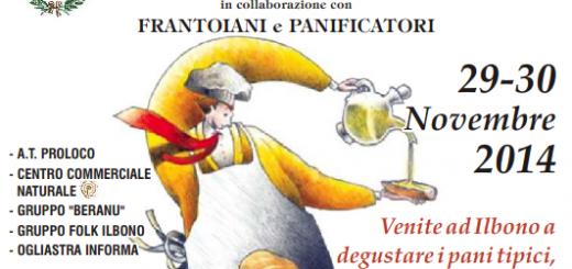 Pane, Olio & Culurgioni - A Ilbono il 29 e 30 Novembre 2014