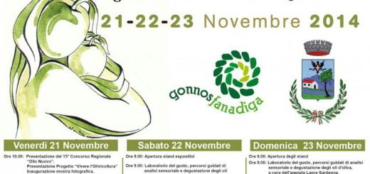 XXVIII Sagra delle Olive a Gonnosfanadiga - Dal 21 al 23 Novembre 2014