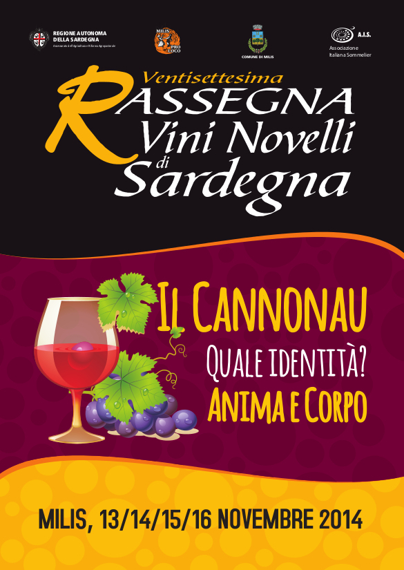 Rassegna dei vini novelli 2014 a Milis - 15 e 16 Novembre