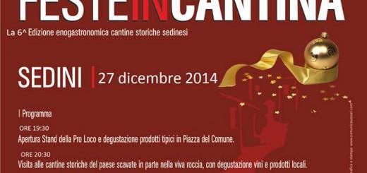 6^a edizione Festa in Cantina a Sedini – Sabato 27 dicembre 2014
