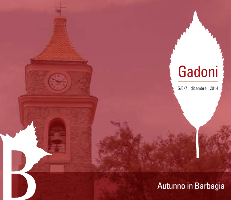 Autunno in Barbagia 2014 a Gadoni