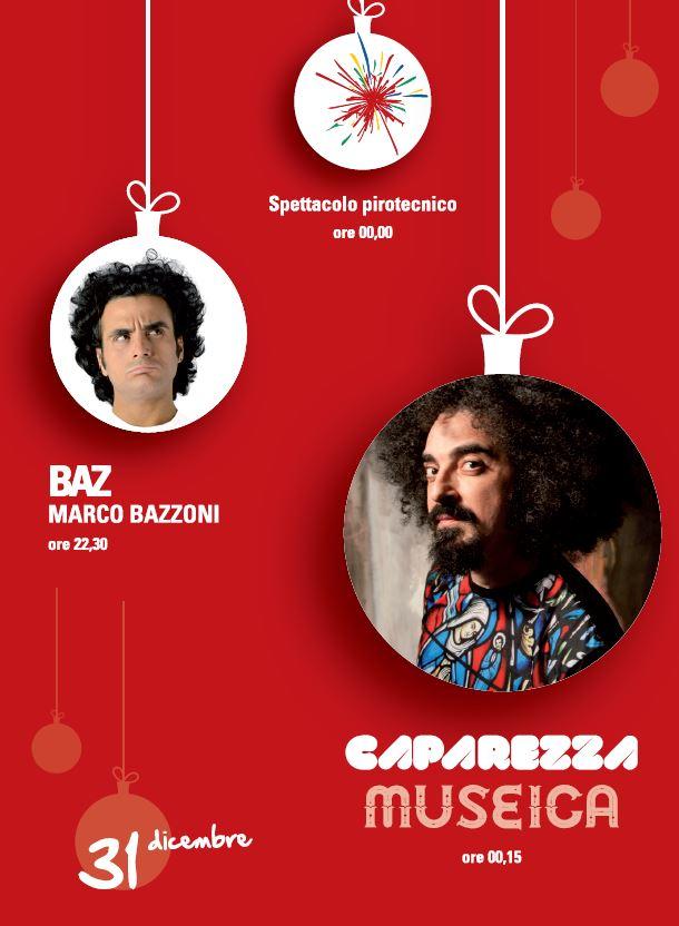 Capodanno 2015 ad Alghero con Baz e Caparezza