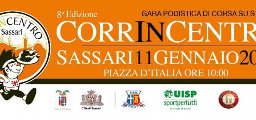 VIII edizione Corrincentro - Domenica 11 Gennaio 2015 a Sassari