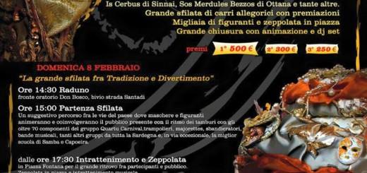 Carnevale 2015 a Teulada - 8 e 17 Febbraio 2015