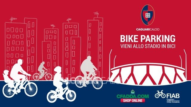 Cagliari: Allo stadio in bicicletta - Bike Parking custodito al Sant'Elia