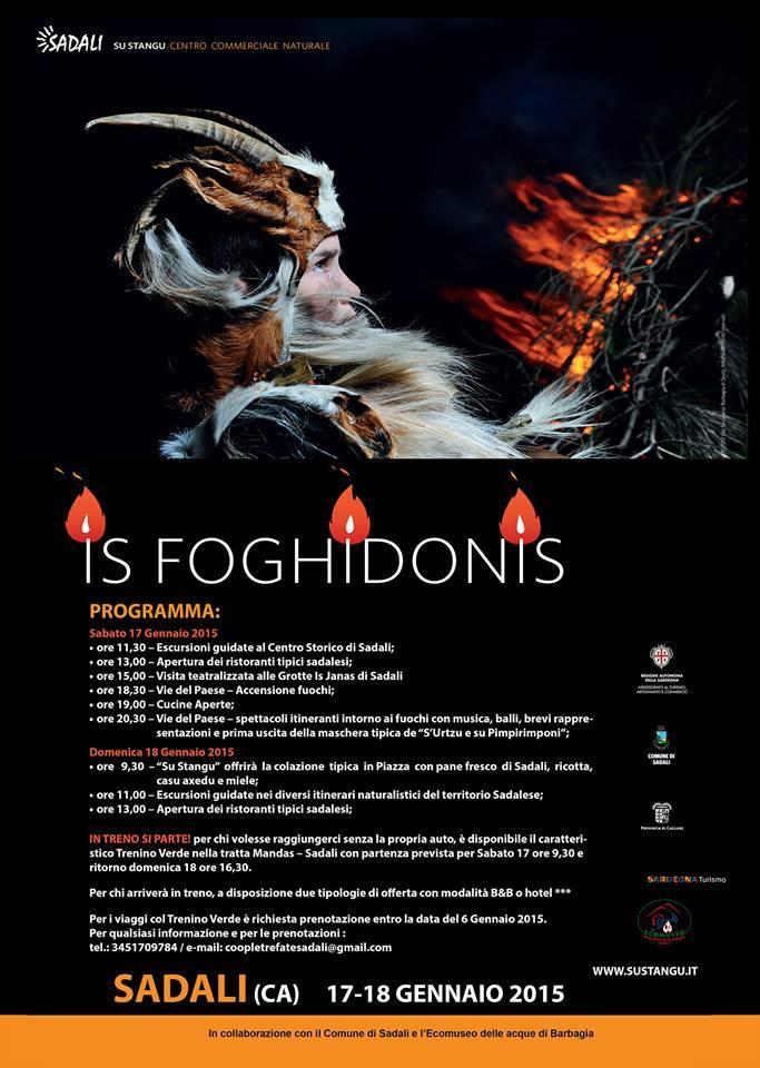 Is Foghidonis 2015 – A Sadali il 17 e 18 Gennaio
