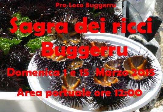 Sagra dei Ricci 2015 a Bugerru - Domenica 1 e Domenica 15 Marzo