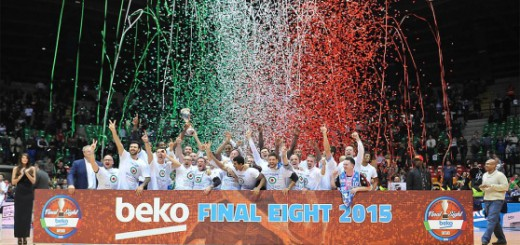 La Dinamo Sassari vince la Coppa Italia 2015 di Basket