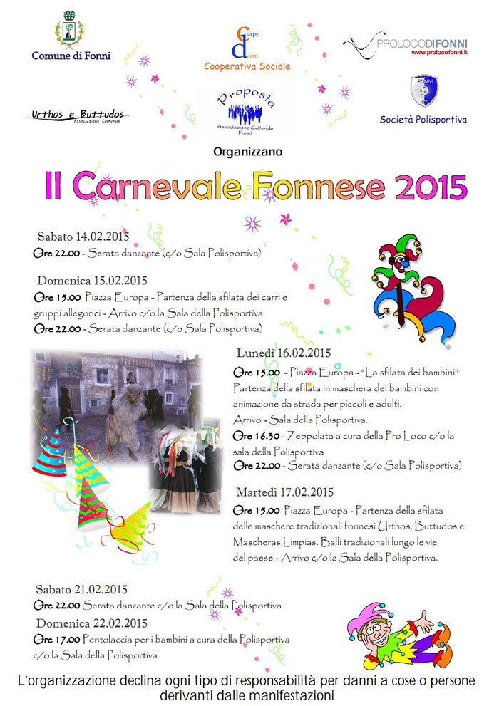 Carnevale di Fonni 2015