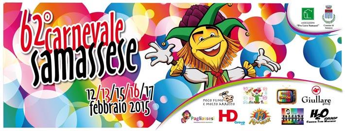 Carnevale Samassi 2015 - Tutti gli appuntamenti fino a Martedì 17 Febbraio