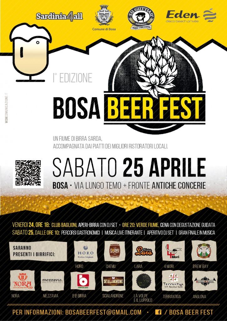 Bosa Beer Fest - Venerdì 24 e Sabato 25 Aprile 2015
