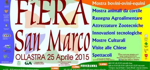 Fiera di San Marco ad Ollastra - Dal 24 al 26 Aprile 2015