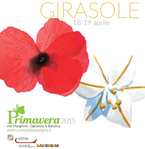 Primavera nel Marghine, Ogliastra e Baronia – A Girasole il 18 e 19 Aprile 2015