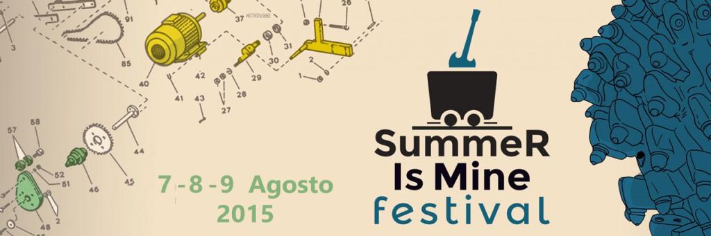 """Terza edizione di """"Summer is Mine"""" - A Carbonia dal 7 al 9 Agosto 2015"""