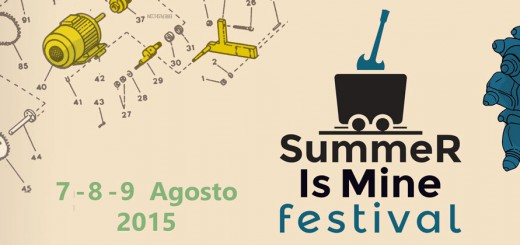 "Terza edizione di ""Summer is Mine"" - A Carbonia dal 7 al 9 Agosto 2015"