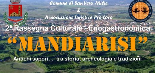 """""""Mandiàrisi"""": Antichi sapori…. tra storia, archeologia e tradizioni - A San Severo Milis il 9 e 10 Maggio 2015"""