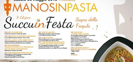 Manos In Pasta 2015 - Sabato 30 Giugno a Thiesi