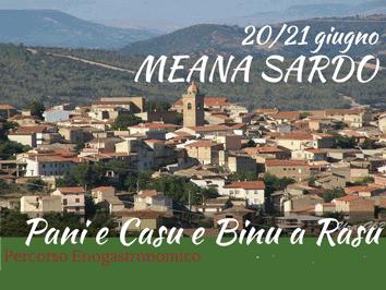 Pani e Casu e Binu a Rasu 2015 - A Meana Sardo il 20 e 21 Giugno 2015