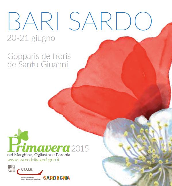 Primavera nel Marghine, Ogliastra e Baronia a Bari Sardo - 20 e 21 Giugno 2015
