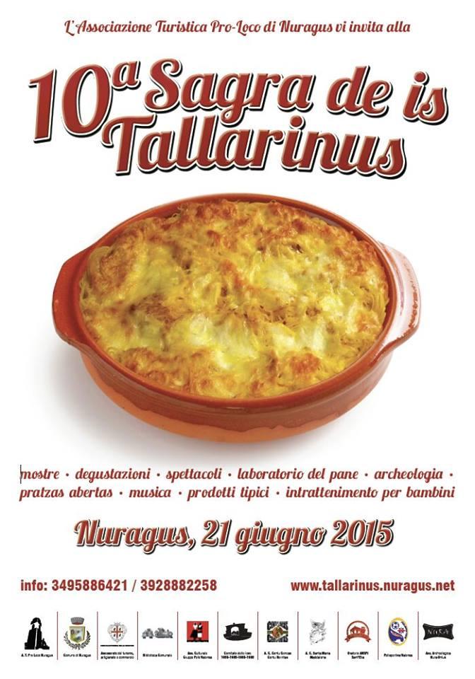 10^a Sagra de is Tallarinus - A Nuragus il 21 Giugno 2015