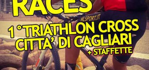 """Prima edizione """"Triathlon Cross Country Città di Cagliari"""" - Domenica 21 Giugno 2015"""