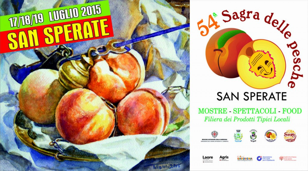 54^a Sagra delle Pesche a San Sperate - Dal 17 al 19 Luglio 2015