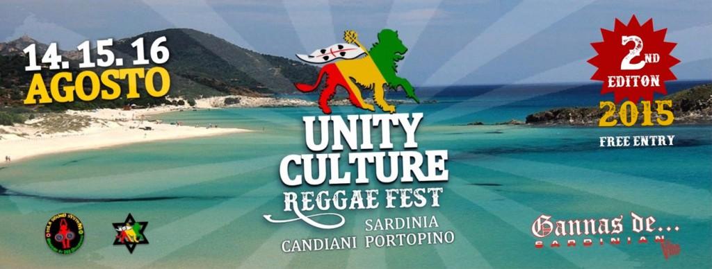 Unity Culture Reggae Fest 2015 a Porto Pino - Dal 14 al 16 Agosto 2015
