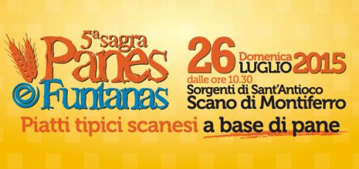 5^ Sagra Pane e Funtanas a Scano di Montiferro - Domenica 26 Luglio 2015