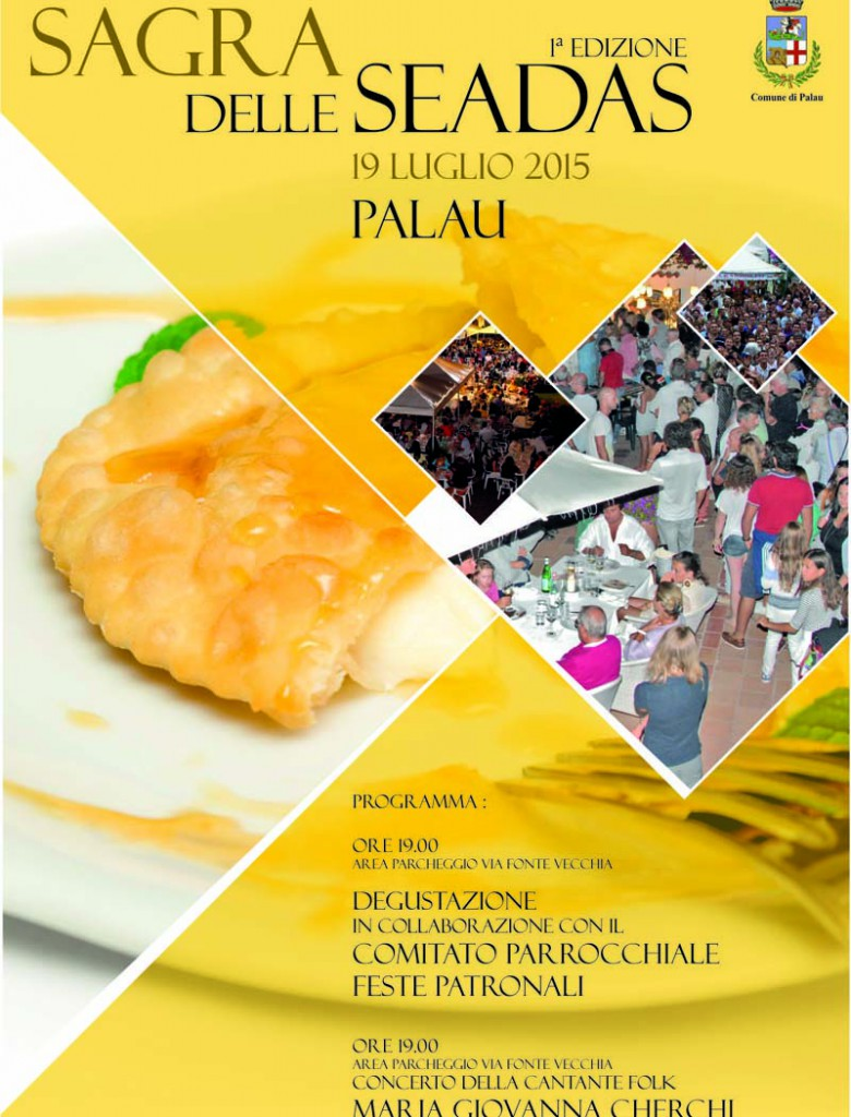 Sagra delle Seadas a Palau - Domenica 19 Luglio 2015