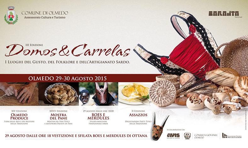 3^a edizione di Domos e Carrelas - A Olmedo il 29 e 30 Agosto 2015