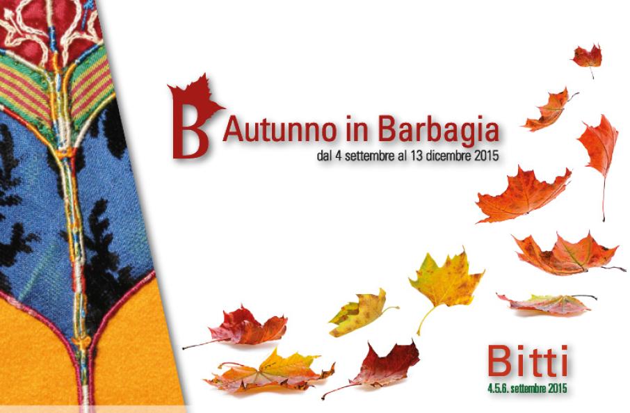 Autunno in Barbagia 2015 a Bitti - Dal 4 al 6 Settembre 2015