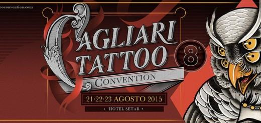 8^a Edizione Cagliari Tattoo Convention - Dal 21 al 23 Agosto 2015
