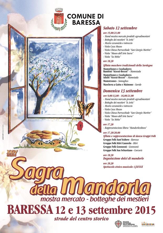 Sagra della Mandorla 2015 a Baressa