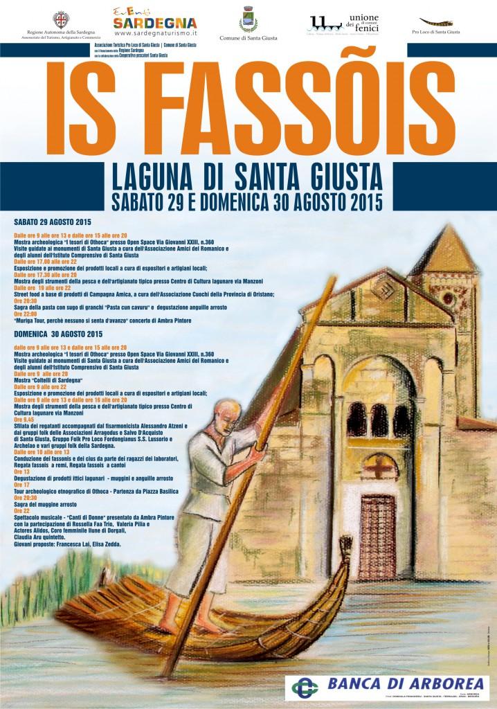 Regata de Is Fassõis alla Laguna di Santa Giusta - Dal 29 al 30 Agosto 2015