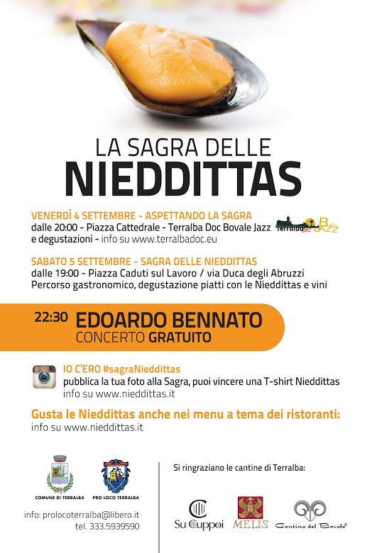 Sagra delle Nieddittas 2015 a Terralba - 4 e 5 Settembre 2015