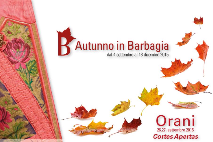 Autunno in Barbagia 2015 ad Orani