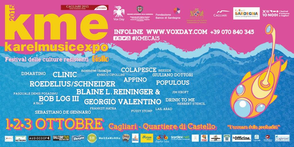 Karel Music Expo - A Cagliari da Giovedì 1 fino a Sabato 3 Ottobre 2015