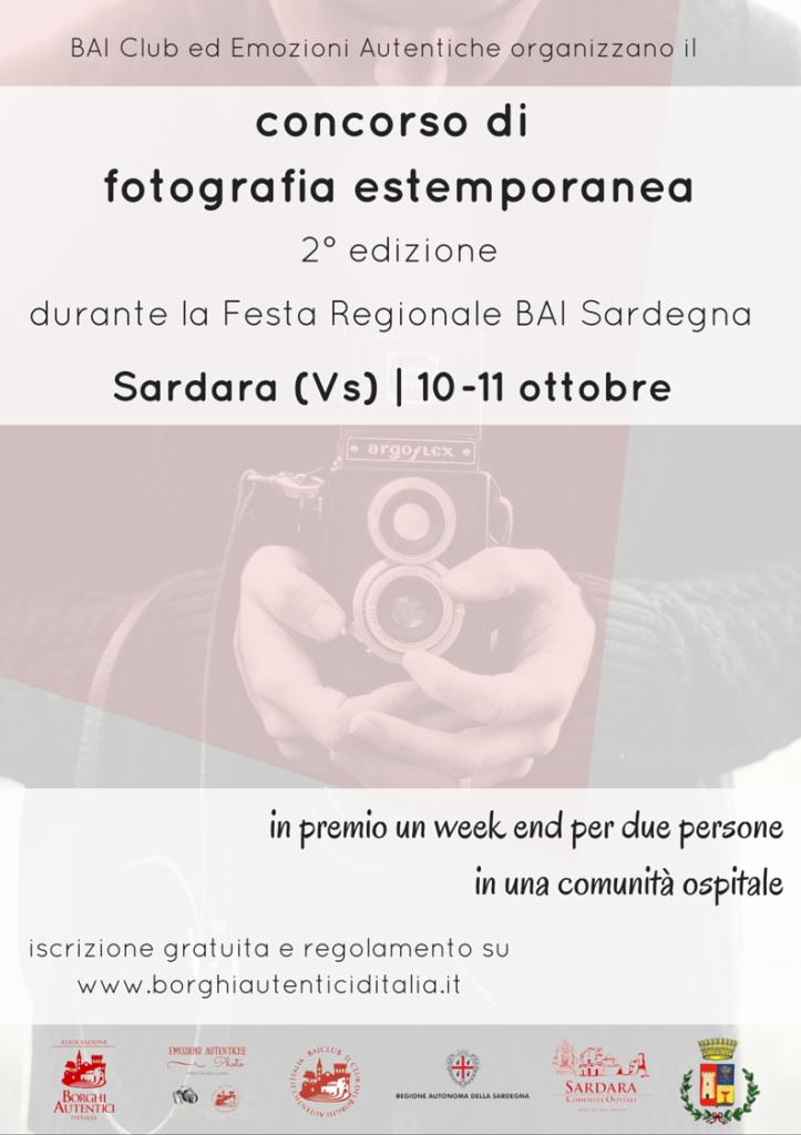 Sardara, 2° concorso di fotografia estemporanea