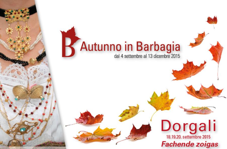 Autunno in Barbagia 2015 a Dorgali – Dal 18 al 20 Settembre 2015