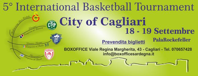 "5° International Basketball Tournament ""City of Cagliari"""