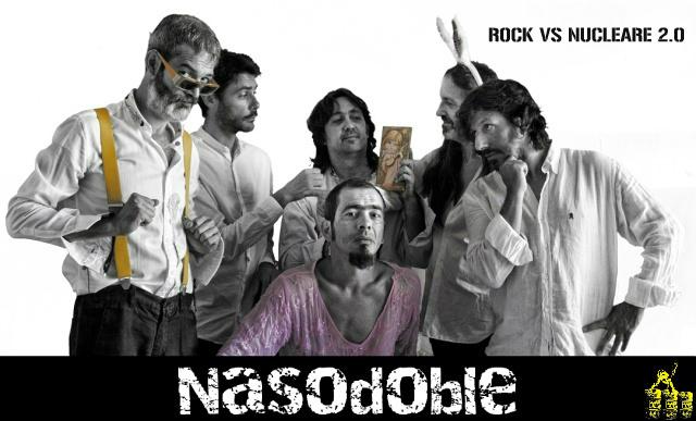 I Nasodoble ad Olbia per Rock Vs Nucleare 2.0